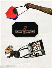 PUBLICITE ADVERTISING 095  1992  RENAUD PELLEGRINO  boutique sacs maroquinere