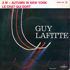 "45T 7"": Guy Lafitte: autumn in new-york + 2 titres. columbia. A8"