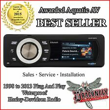 FULL COLOR SCREEN AQUATIC AV HARLEY DAVIDSON BLUETOOTH REPLACEMENT RADIO
