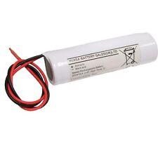 Yuasa 2DH4-0L4, 2.4V 4AH Ni-Cd Rechargeable Emergency Lighting Battery Pack