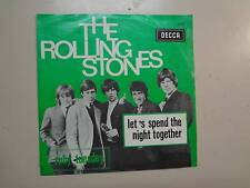 "ROLLING STONES: Let's Spend The Night Together-Ruby Tuesday-Belgium 7"" Decca PSL"