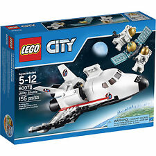60078 UTILITY SHUTTLE lego city town NISB space NEW legos set satelite astronaut