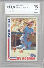 1982 Topps Pete Rose In Action (#781) BCCG10 BCCG