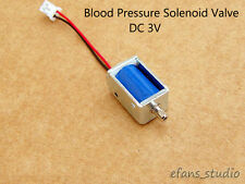 DC 3V Solenoid valve Flow exhaust valve Electronic Blood Pressure Monitor