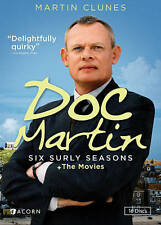 DOC MARTIN: SIX SURLY SEASONS + MOVIES (DVD 2015), 16 DISK SET) BRAND NEW!!!