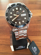 NEW! Orient Ray II 2 bk. FAA02004B9 Automatic Watch Automatik Herren Taucher Uhr
