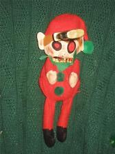 OOAK Evil Zombie Elves Lights Up Green Ugly Christmas Sweater Mens XL Womens 2X