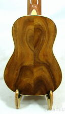Alulu Solid Acacia Koa Baritone Guitarlele,natural grain,hardcase,HUA594F