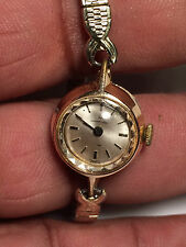 Lovely Vintage Ladies Hamilton 232 17 Jewel 18K Gold Electroplated Analog Watch