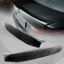 For 2013-2015 Lexus GS350 GS450 Black Polyurethane Rear Trunk Lid Spoiler Wing