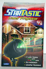 NEW Startastic Holiday Light Show Laser Light Projector As Seen on TV static