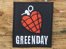 ECUSSON PATCH THERMOCOLLANT aufnaher toppa GREENDAY / 6.7 CM X 7.8 CM
