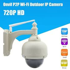 HW0028 5 OPT ZOOM IR-CUT PTZ OUTDOOR WIFI ONVIF 720P HD IP CAM SECURITY CAMERA