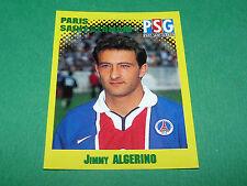 N°281 JIMMY ALGERINO PARIS SAINT-GERMAIN PSG PANINI FOOT 98 FOOTBALL 1997-1998