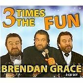 Brendan Grace - 3 Times the Fun (2012)  3CD Box Set  NEW/SEALED  SPEEDYPOST