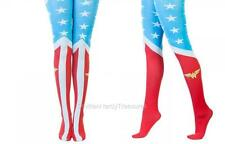 "DC Comics JLA Licensed WONDER WOMAN ""Suit Up"" Tights COSTUME Prop COSPLAY O/S"