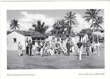 """*Postcard-""""WW II Soldiers/Coral Gables Country Club"""" @ Golf In Florida-  (#35)"""