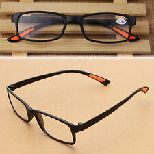 Flexible Reading Glasses Unisex Black Light Folding Eyeglasses Resin 1.0-4.0