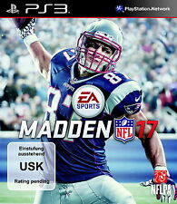PlayStation 3 juego: madden nfl 17 ps-3 nuevo & OVP