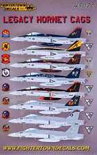 Fightertown Decals 1/48 F/A-18E/F HORNET LEGACY HORNET CAGS