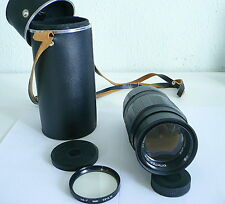 Jupiter 21M lens  200mm F/4 M42  N83032871 USSR VOMZ Vologda ( with filter )
