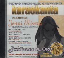 Jenni Rivera Serie De Oro Vol 172  Karaokanta Karaoke New sealed