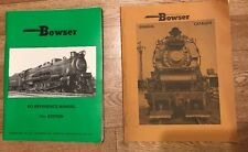 BOWSER HO SCALE REFERENCE MANUAL 15th Plus General Catalog 1975 Trains books