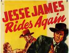 JESSE JAMES RIDES AGAIN, 13 CHAPTER SERIAL, 1947