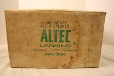 15'' ALTEC LANSING 421A BASS MUSICAL INSTRUMENT SPEAKER DIA CONE 8 OHMS USED