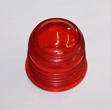 Red Beacon Lens, ID 1 7/8 OD 2 1/2.  Height 2 1/2