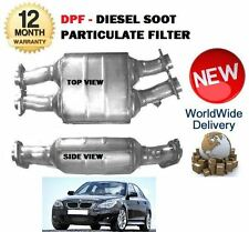 FOR BMW 535D E60 E61 M57 272BHP 9/2004-1/2007 DPF DIESEL SOOT PARTICULATE FILTER