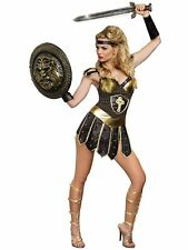 Sexy Queen of Swords Warrior Women's Halloween Costume Crusader SZ S