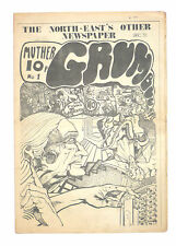 MUTHER GRUMBLE No 1 Dec 1971 John Lennon Underground Press Oz Era magazine