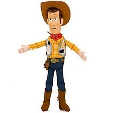 "WooDY~12"" (30.48cm)~PLUSH DOLL~Sheriff~Hard Face+Hat~Toy Story~NWT~Disney Store"