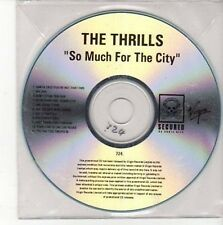 (CC750) The Thrills, So Much For The City - DJ CD