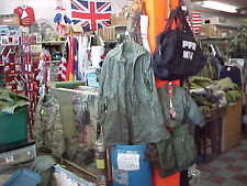 US ARMY Night Desert Camouflage Hooded Parka  Military Small Jacket GHILLE BASE