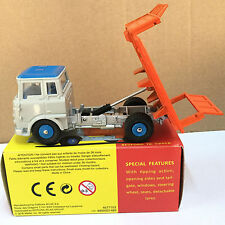 ATLAS 1:43 DINKY TOYS 435 BEDFORD TK TIPPER TIPPPING ACTION OPENING SIDE GATES