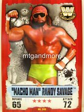 "Slam Attax Takeover - #249 ""MACHO MAN"" Randy Savage"