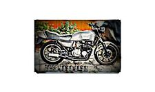 1983 z750 Bike Motorcycle A4 Retro Metal Sign Aluminium