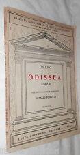 ODISSEA Libro V Omero Gennaro Perrotta Loffredo 1933 Classici Greci di Scuola di