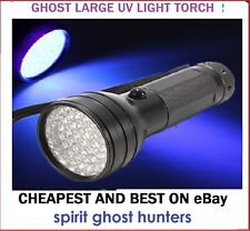 GHOST 51 LED UV LARGE LIGHT PARANORMAL TORCH KIT EQUIPMENT HUNTING HUNT SPIRITS