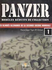 PANZER N° 1 FASCICULE BOOKLET HEFT PANZERJÄGER TIGER (P) ELEFANT