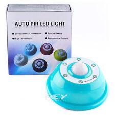 Sensor Movimiento PIR color AZUL con 6 LEDS Regulable Intensidad y duración d133