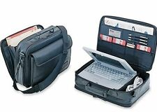 "Authentic Black DELL Targus 16"" Deluxe Large Laptop Case Expandable Bag 8-16"