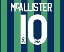 No 10 McAllister Leeds United Third 1994-1996 Football Nameset for shirt