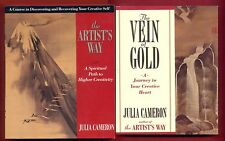 2 books by Julia Cameron - The Artists Way & Vein of Gold - Free Shipping!