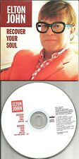 ELTON JOHN Recover your Soul w/RARE MIX & INTRO Version PROMO CD single 1997 USA