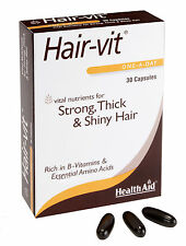 HealthAid Hair-Vit Strong & Shiny Hair (Hair Vitamins) 30 Capsules