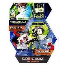 Ben 10 WebCardz - Alan as Heatblast