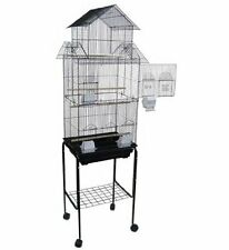 NEW Large Pagoda House lovebird parakeet cockatiel canary bird cage W/Stand 273